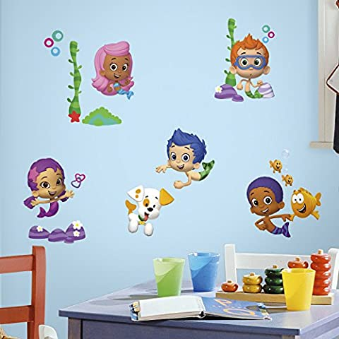Bubble Guppies Peel and Stick Stickers