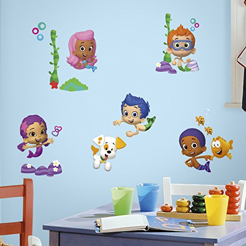 Bubble Guppies Peel and Stick Wandtattoos