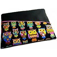 Tablet Netbook Notebook Tasche Inka Eule mit Außenfach, Maßanfertigung