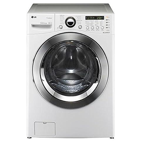 LG F52590WH Autonome Charge avant 15kg 1200tr/min A++ Blanc machine à laver - machines à laver (Autonome, Charge avant, A++, A, B, Blanc)