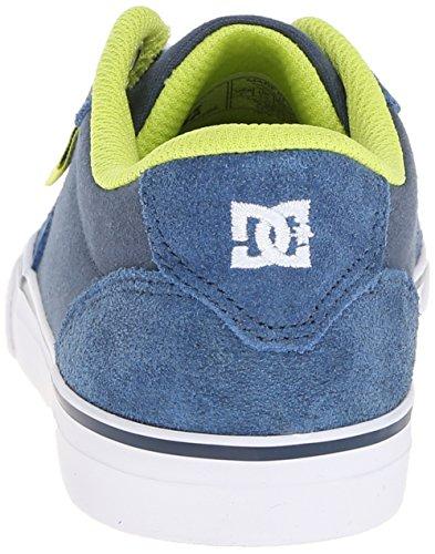 DC Shoes  Anvil,  Sneaker Ragazzo Blu (Blu (Navy))