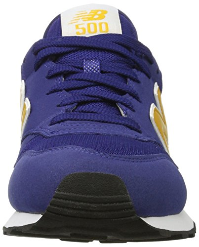 New Balance Gm500, Baskets Homme Bleu (Blue/yellow)