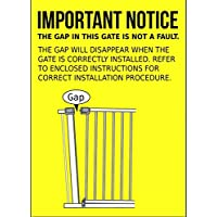 Bettacare Auto Close Stair Gate Safety Gate (68.5 to 75 cm, Narrow Size)
