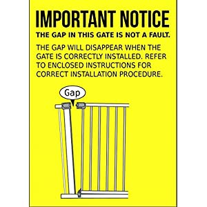 Bettacare Auto Close Stair Gate Safety Gate (68.5 to 75 cm, Narrow Size)   13