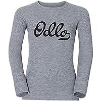 Odlo - Shirt L/S Crew Neck Warm Trend Kids (Gra, Color Grey Melange, Talla 80