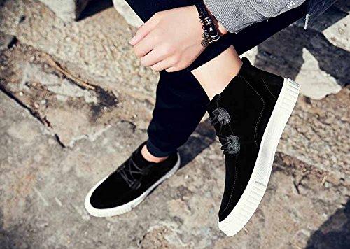 Uomini Casual Flats Shoes 2018 Spring Novità Scarpe Da Skateboard Sneakers Outdoor Moda Scarpe Da Ginnastica Leggere Black