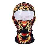 Godbb 3D Tier Balaclava Ski Maske Winddicht Gesichtsmaske Motorrad Gesichtsschutz Für Männer Frauen Dünne Atmungs Halswärmer Maske Für Outdoor Radfahren Snowboard Wandern (Farbe : C7)