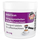 COFFEE MACHINE CLEANING TABLETS - box of 240 - cleaner suitable for automatic coffee makers, espresso machines, capsule coffee machines, etc - for all brands such as De'Longhi, Melitta, Jura, Bosch
