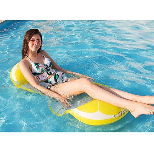SSBH Aufblasbare Multifunktions-Hängematte (Hängematte, Liege, Rafting-Tool) Tragbares Schwimmbecken, neuartiges Fruchtdesign, tropische Liebesgefühle, geeignet für Kinder und - Fahrt Einhorn Kostüm
