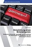 Entwicklung eines Browsergames: Weiterentwicklung der Spielelogik und Entwicklung von Werkzeugen zur Spielbalance für das Browsergame Ökosia