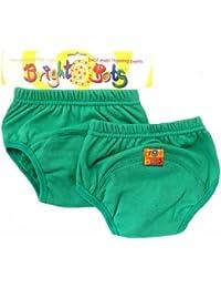 Bright Bots Potty Training Pants (Twin Pack, Green, Medium, 18 - 24 months)