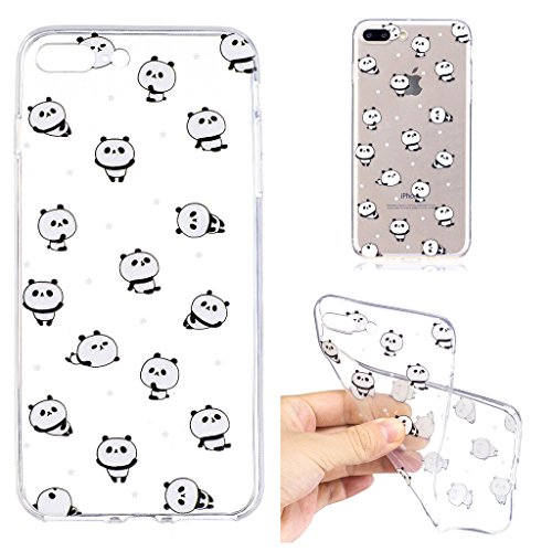 "Coque pour Apple iPhone 7 Plus , IJIA Transparent Couronne (Queen) TPU Doux Silicone Bumper Case Cover Shell Housse Etui pour Apple iPhone 7 Plus (5.5"") LF6"
