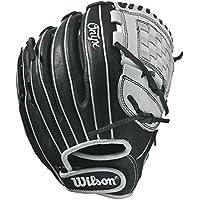 Wilson Onyx Cat Web Fastpitch guante, mujer, negro/blanco