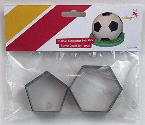 dekofee Ausstecher Kunstoff für einen Fussball, 15cm