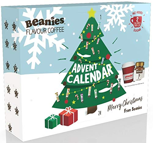 Beanies Flavored Coffee Advent Calendar, 735 g
