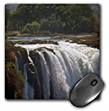 Danita Delimont - Kymri Wilt - Waterfalls - Africa, Zimbabwe. Victoria Falls, The Smoke that Thunders. - MousePad (mp_188733_1)