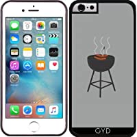 Custodia in silicone per Iphone 6/6S - Barbecue Con Salsicce by ilovecotton