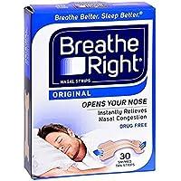 Breathe Right Nasenstrips Nasenpflaster (Doppelpack = 2 Packungen mit je 30 Stück) in Hautfarbe. Größe: L/Large... preisvergleich bei billige-tabletten.eu