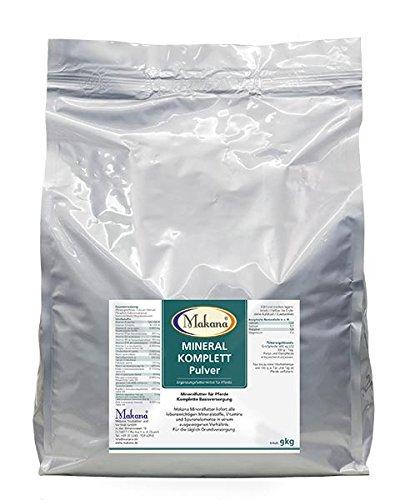 Makana Mineralfutter KOMPLETT Pulver, 9 kg Sack