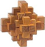 Playtastic PE-1570 Geduldsspiele verhexte Knoten (Geduldspiele aus Holz)