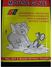 eShop24x7 SET of 5 - Mouse Insect Rodent Lizard Trap Rat Catcher Adhesive Sticky Glue Pad - Non Poisonous - Non Toxic - Odourless - Rat Terminator