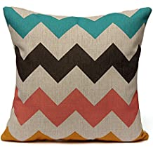 TOOGOO(R) Funda de Cojin Almohada 43cmx43cm Decorativos para Sofa