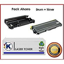 Pack Ahorro toner + tambor Brother tn2120 + dr2100 impresoras laser HL-2140, HL-2150N, HL-2170W DCP-7030, DCP-7032E, DCP-7040, DCP-7045N MFC-7320, MFC-7440N, MFC-7840W HL2140, HL2150N, HL2170W DCP7030, DCP7032E, DCP7040, DCP7045N MFC7320, MFC7440N, MFC7840W HL - 2140, HL – 2150 N, HL – 2170 W DCP - 7030, DCP – 7032 E, DCP – 7040, DCP – 7045 N MFC - 7320, MFC -7 440 N, MFC – 7840 W - Producto Reciclado en ESPAÑA