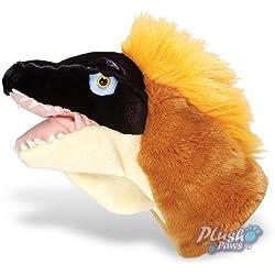 Wild Republic - Cuddlekins Velociraptor Dinosaur Puppet, 28cm by Wild Republic