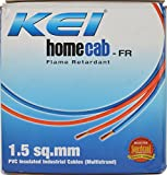KEI 90 m Electrical Wire (Yellow)