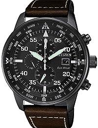 Citizen, Reloj con cronógrafo para hombre, de la colección Aviator Chrono CA0695 – 17E