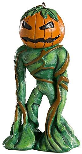 HorrorNaments Figur Kürbismann Horror-Ornament - gruselige Requisite und Dekoration für Halloween, Weihnachten, Partys und Veranstaltungen