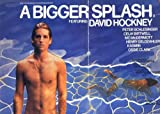 A Bigger Splash Plakat Movie Poster (30 x 40 Inches - 77cm x 102cm) (1974)
