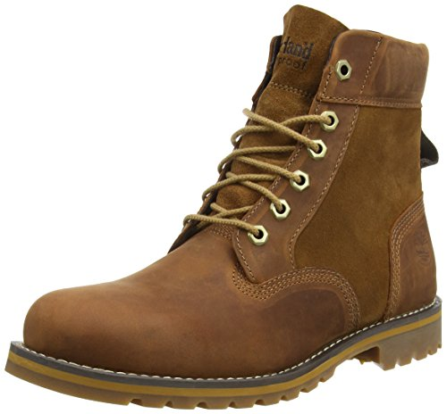 Timberland Larchmont 6In Boot, Stivaletti, Uomo, Marrone (Marrone (Medium Brown)), 42