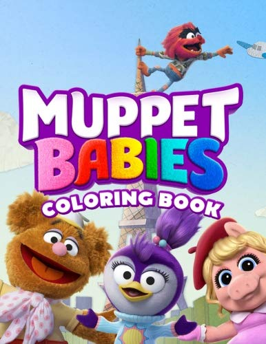Muppet Babies Coloring Book: Awesome Coloring Book for Kids (2018) por Mayer King