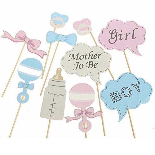 Requisiten Photo Booth auf Sticks DIY Funny für Kinder Baby Show, Geburtstag von Hochzeit Decor (Baby-halloween-shows)