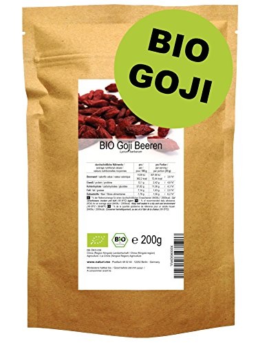 6 95 bio goji beeren 200 g von auf grocery. Black Bedroom Furniture Sets. Home Design Ideas