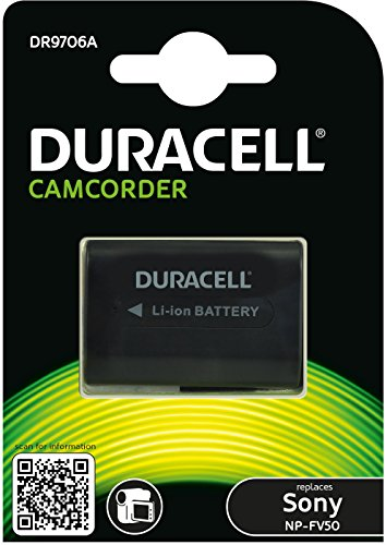 Preisvergleich Produktbild Duracell DR9706A Li-Ion Camcorder Ersetzt Akku für NP-FV30