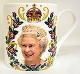 HRH Queen Elizabeth II 90th Birthday Bone China Mug Collectors Commemorative Mug by fromeuropewithlove