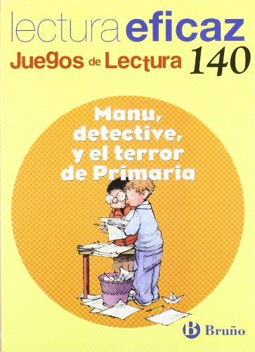 Manu, detective, y el terror de Primaria Juego de Lectura (Castellano -...