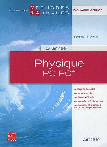 Physique PC PC* 2e année
