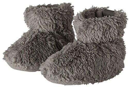 BARTS - Chaussures fourrure polaire marron glacé bébé garçon du 3 au 18 mois Barts Marron