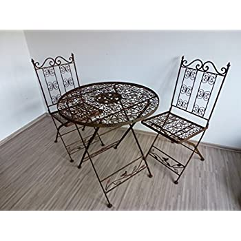 Ziegler 3tlg. Garnitur 3er Set Gartenmöbel 2 Gartenstühle ...