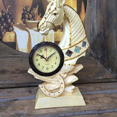 Harz-Handwerks-Ausgangsdekoration-Kreative Uhr-Festliche Geschenke,A,17 * 8 * 31cm (31 Tag-uhr Pendel)