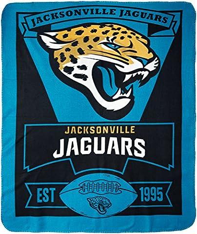 Jacksonville Jaguars 50X60 Fleece Blanket - Marque Design