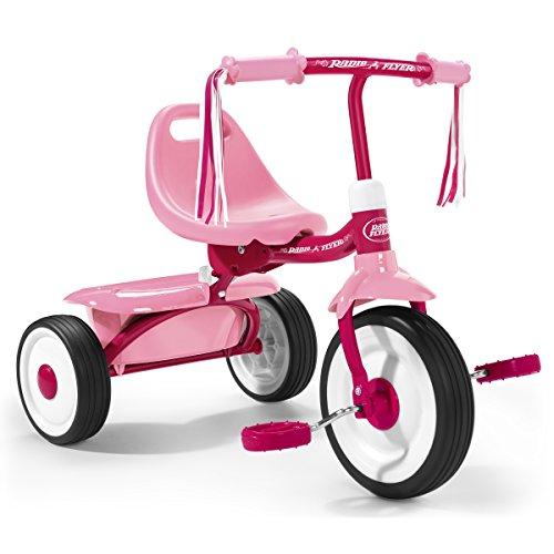 Radio Flyer - Tricicleta, para niñas, Color Rosa (415PA)