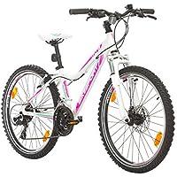BIKE SPORT LIVE ACTIVE 24 Zoll Bikesport Hunter Jugend Fahrrad Jungenfahrrad Kindefahrrad Kinderrad Mädchenfahrrad, Shimano 21 Gang
