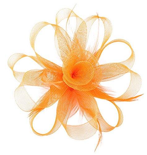 EOZY Damen Netz-Garn Haarschmuck Kopfschmuck Fascinator Hochzeit Fest (Kostüme Tanzabend Zu)