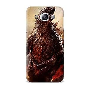 Qrioh Printed Designer Back Case Cover for Samsung E5 - Godzilla 2014