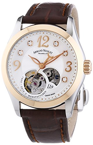 armand-nicolet-womens-automatic-watch-with-white-dial-analogue-display-and-brown-leather-strap-8653a