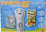 Noris Spiele 608027479 - Starterset Toystick und Buch Biene Polly will nach Hause